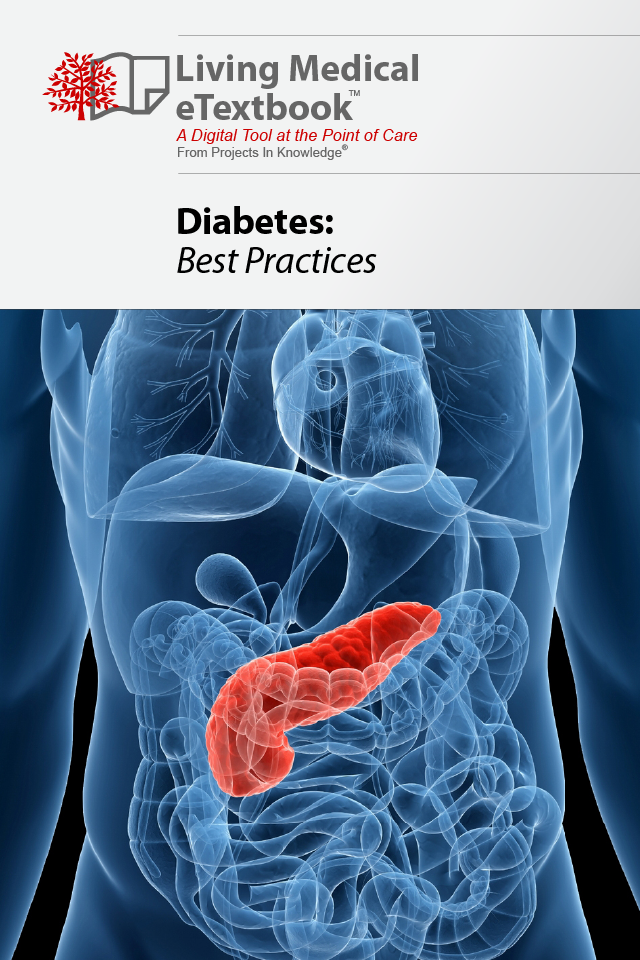 Diabetes - a Living Medical eTextbook App - 1