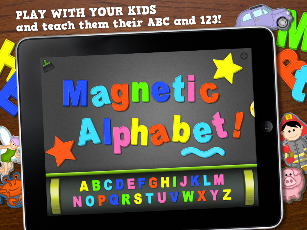 ABC - Magnetic Alphabet HD - Learn to Write! For Kids-3