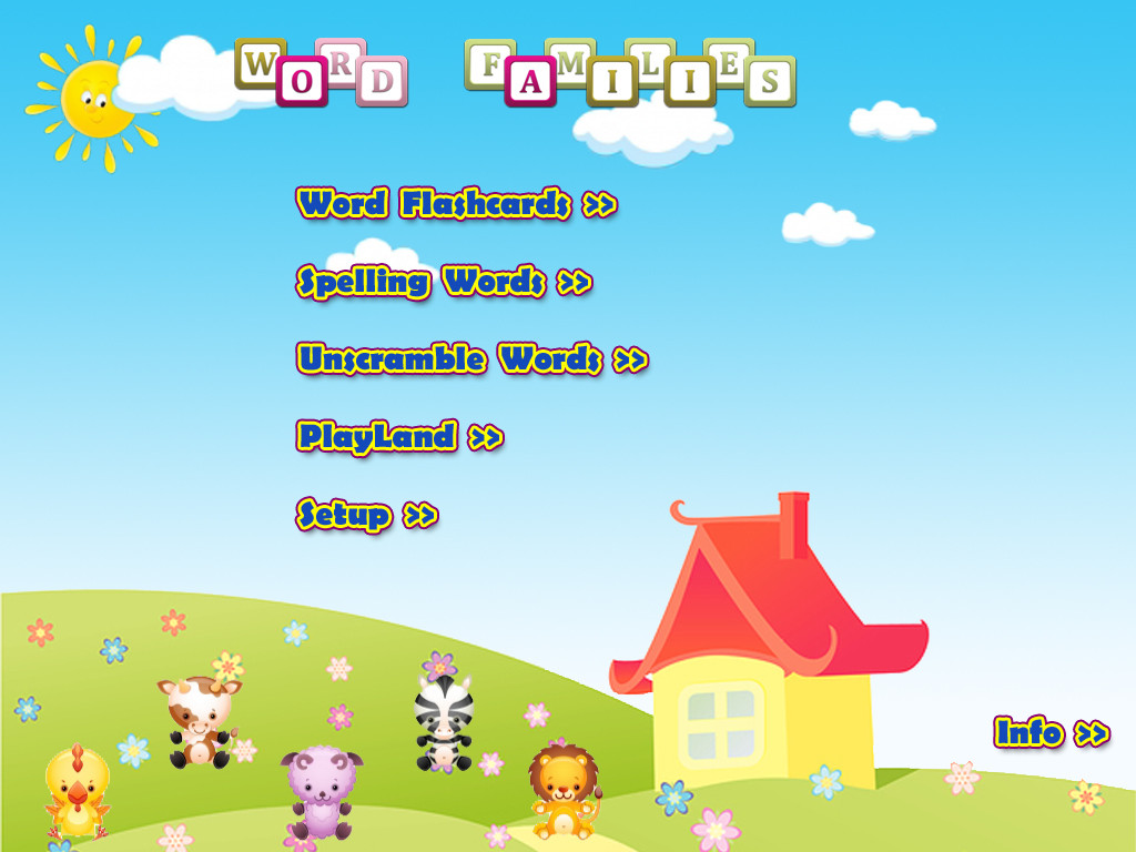 ABC Phonics Word Families Game  Free Lite - for iPad App - 1