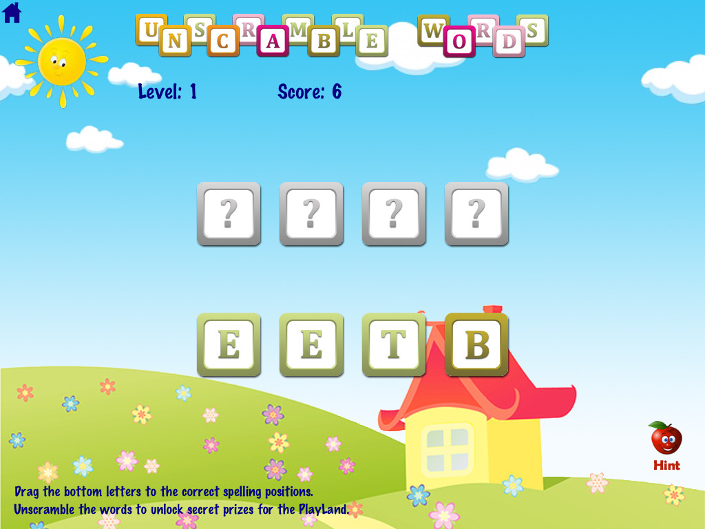 ABC Phonics Word Families Game  Free Lite - for iPad-3
