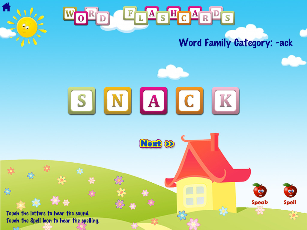 ABC Phonics Word Families Game  Free Lite - for iPad App - 5