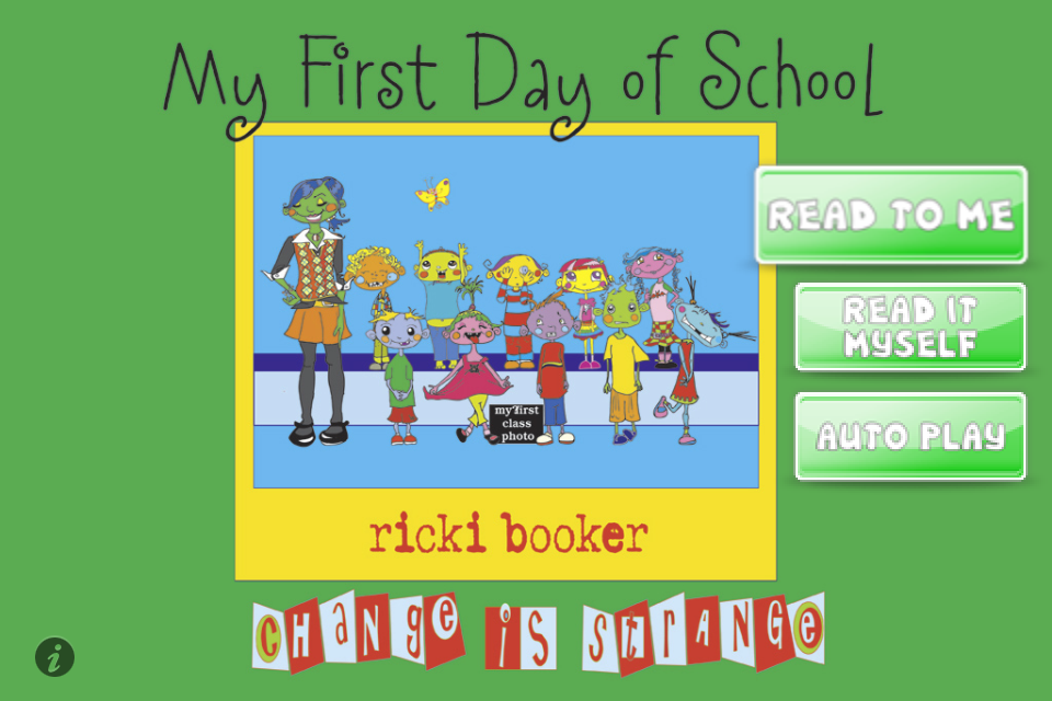 iStoryTime Kids Book- My First Day of School App - 1