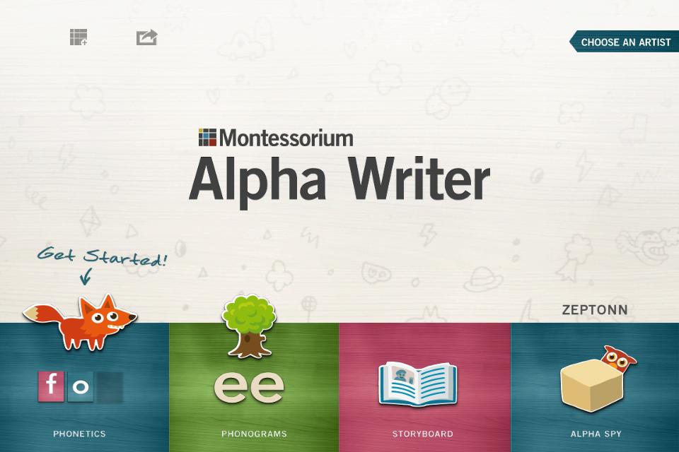 Alpha Writer, by Montessorium-1