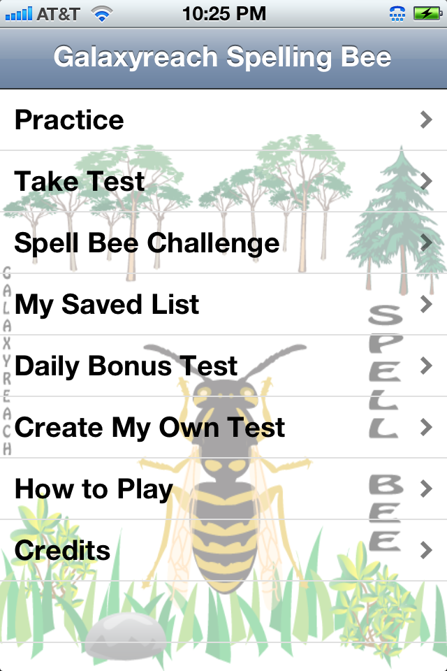 Spelling Bee Challenge App - 1