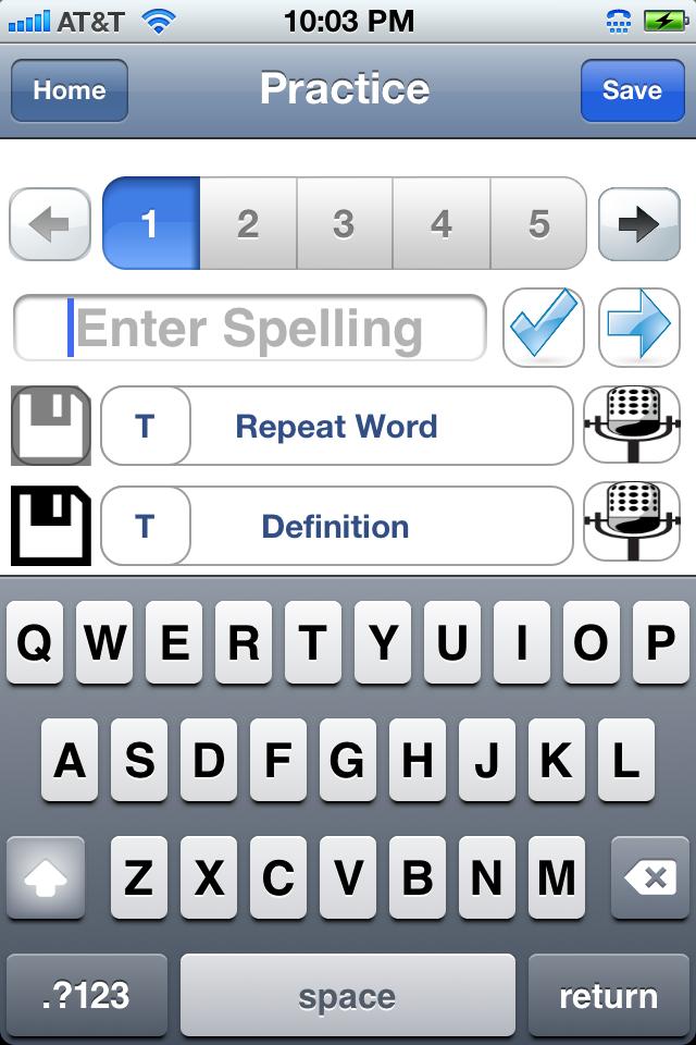 Spelling Bee Challenge App - 3