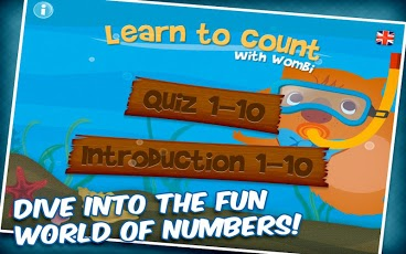 Learn to count with Wombi! App - 1