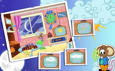 Weather and Clock for Kids-2
