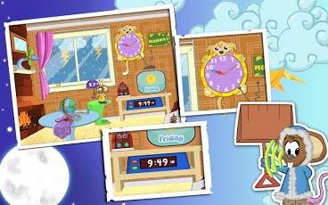 Weather and Clock for Kids-3