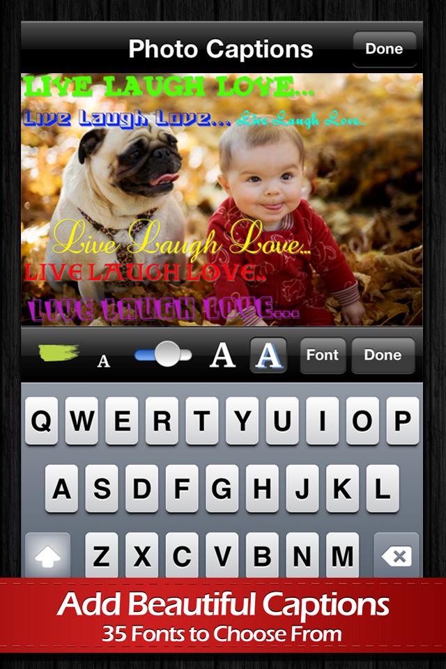 Photo Captions Premium App - 3