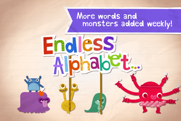 Endless Alphabet App - 2