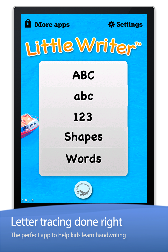 Little Writer - The Tracing App for Kids App - 1