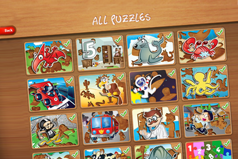 Wood Puzzles Collection-3