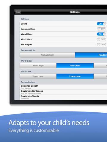 Sentence Maker App - 1