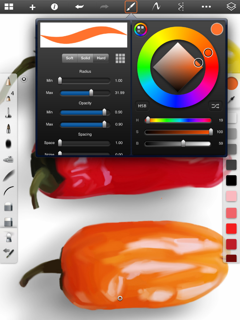 SketchBook Pro for iPad-1
