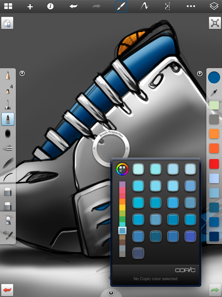 SketchBook Pro for iPad App - 4