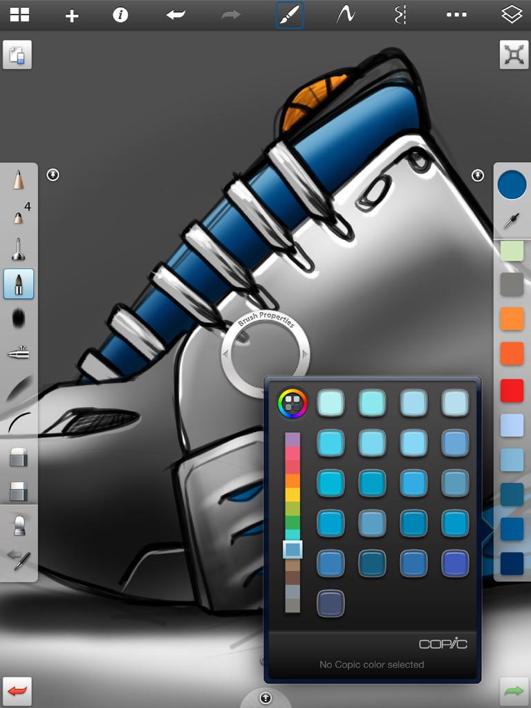 SketchBook Pro for iPad-4