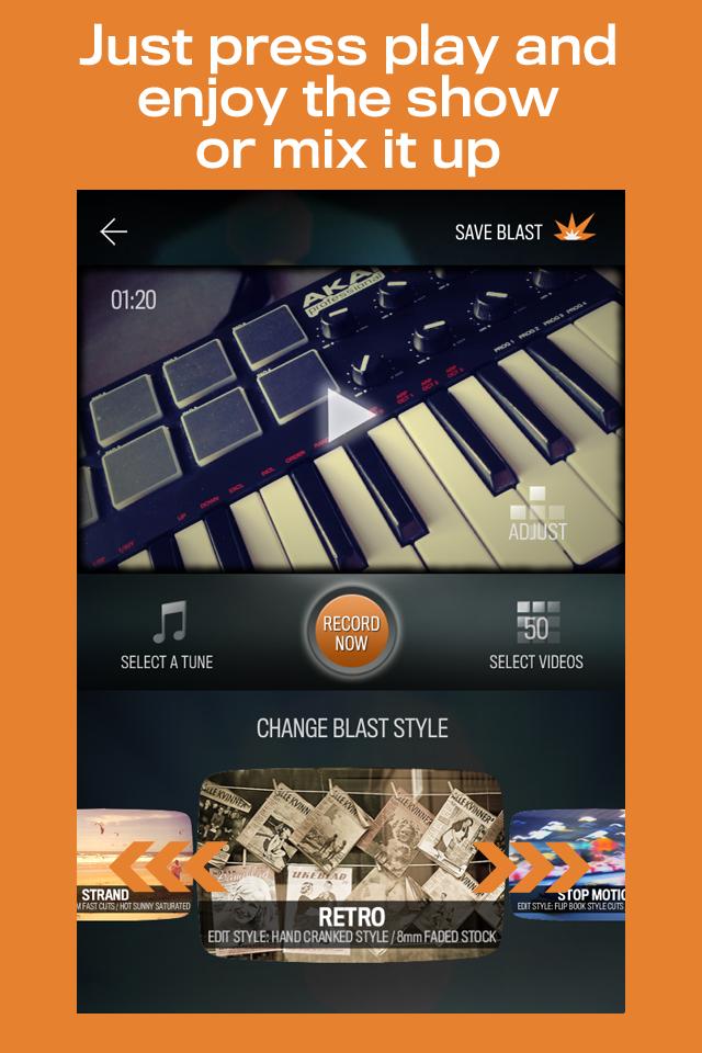 FrameBlast App - 2