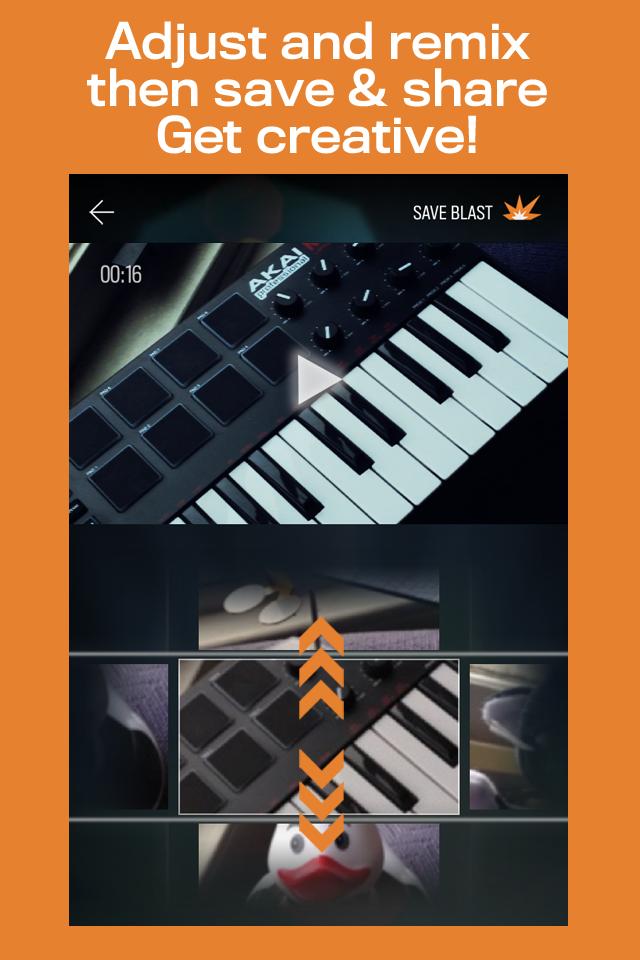 FrameBlast App - 3