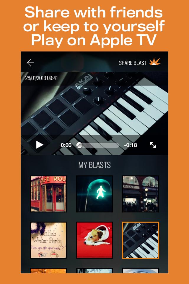 FrameBlast App - 4