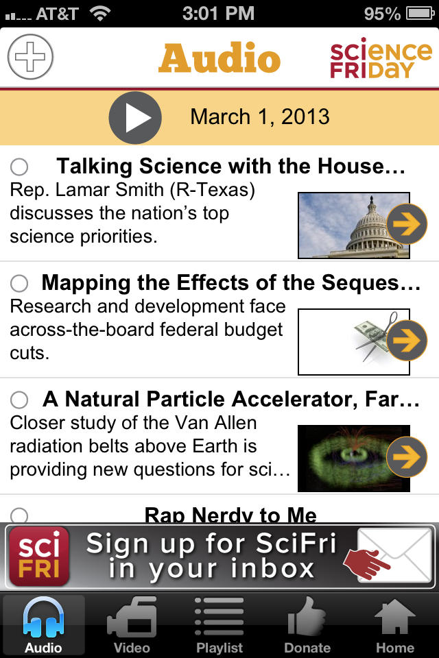 Science Friday App - 1
