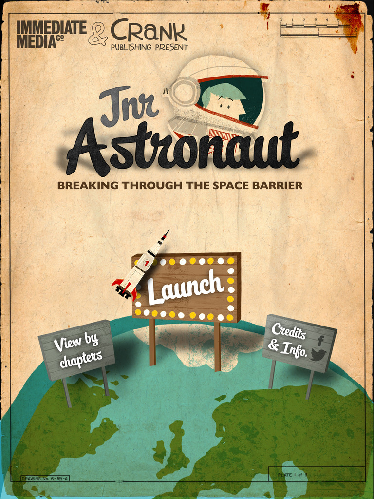 Junior Astronaut - Breaking through the space barrier App - 1