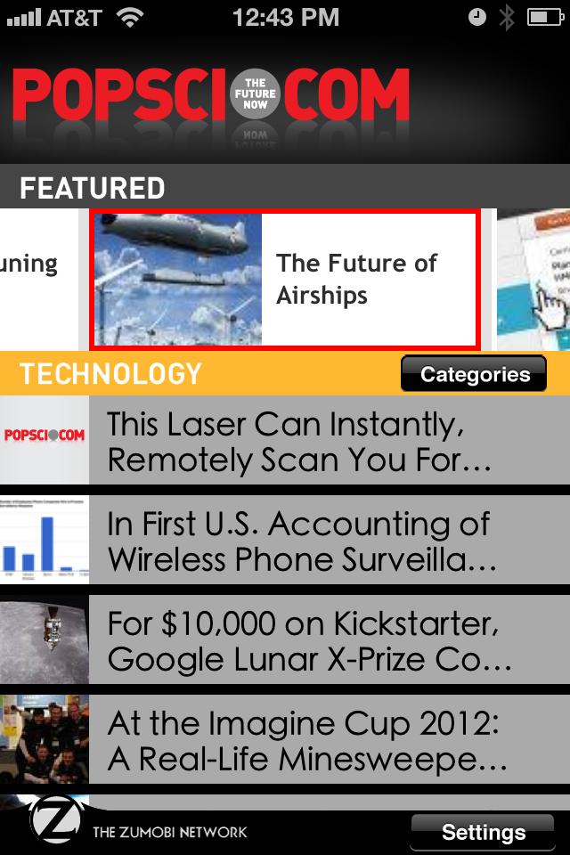 PopSci.com App - 4