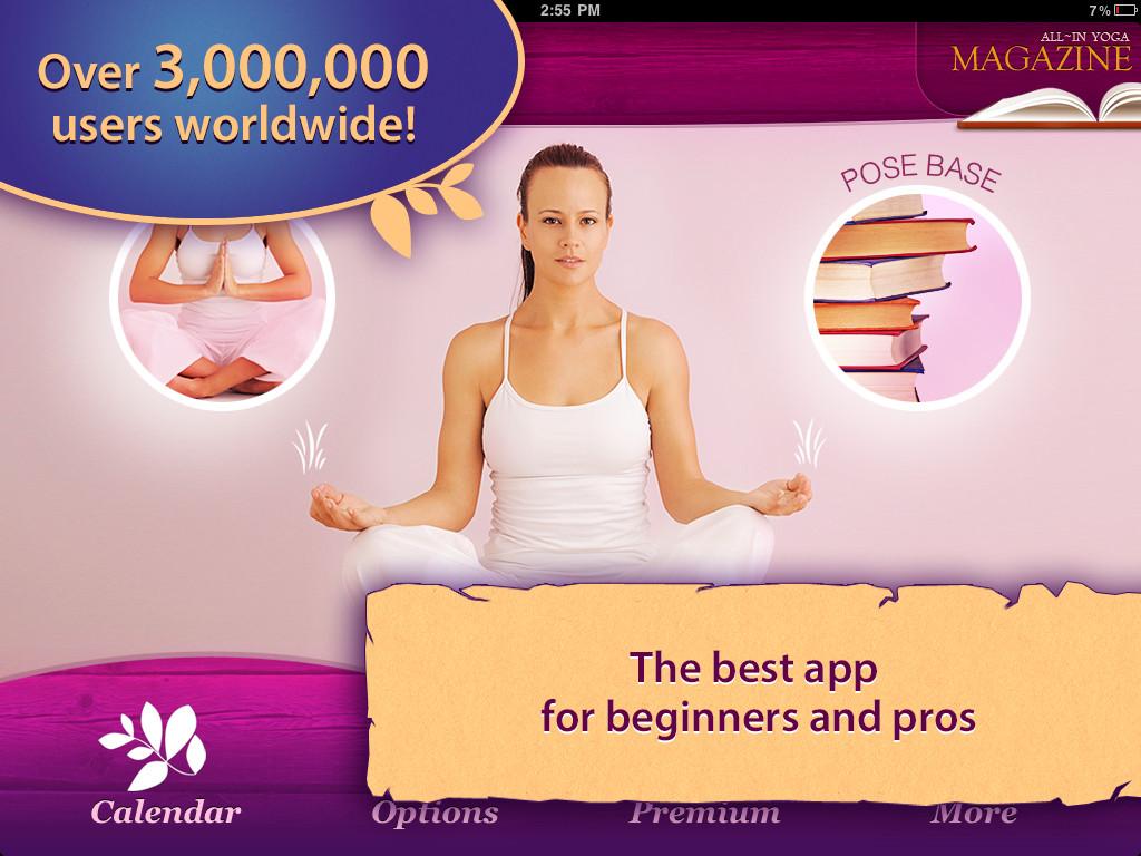 All-in YOGA HD: 300 Poses & Yoga Classes App - 1