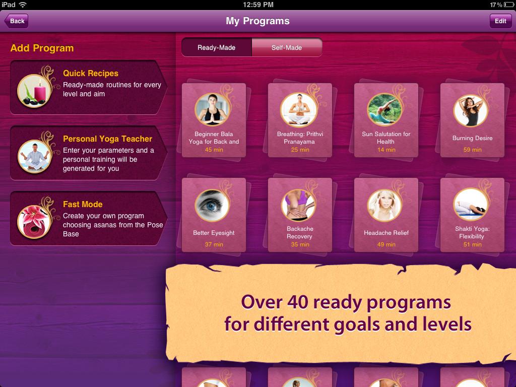 All-in YOGA HD: 300 Poses & Yoga Classes App - 4