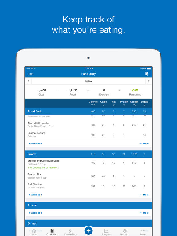 Calorie Counter & Diet Tracker by MyFitnessPal App - 1