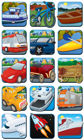 First Words: Learning Vehicles App - 2