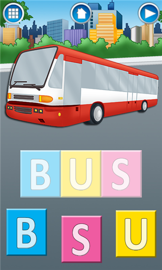 First Words: Learning Vehicles App - 4
