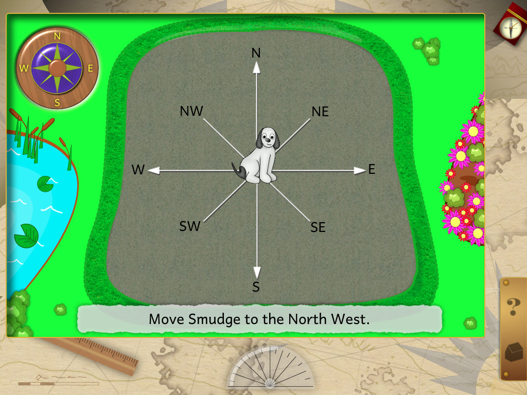 Smudge Compass and Direction App - 2