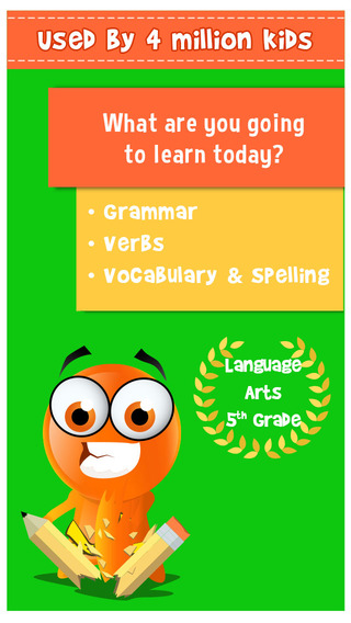 iTooch 5th Grade Language Arts | English worksheets on Vocabulary, Grammar, Reading and Writing App - 4
