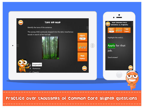 iTooch 8th Grade | Language Arts App - 2
