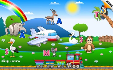 Reading Phonics Train School-2