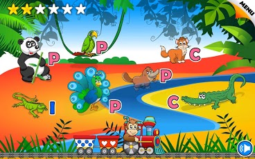Reading Phonics Train School-4