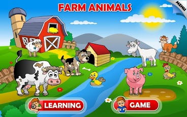 Zoo and Farm Animals for Kids App - 1