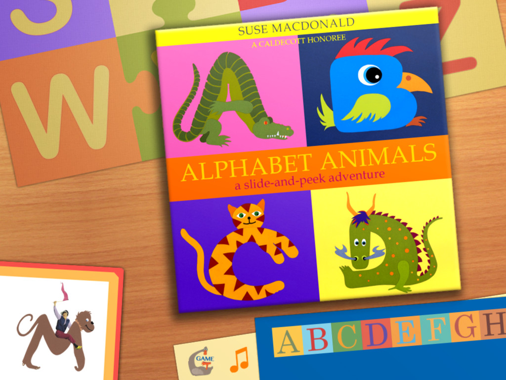 Alphabet Animals: by Suse MacDonald (in StoriesAlive)-1