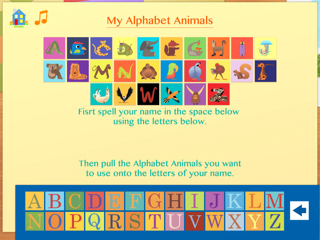 Alphabet Animals: by Suse MacDonald (in StoriesAlive)-3