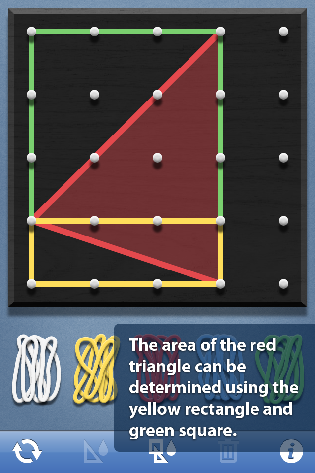 Geoboard, by The Math Learning Center