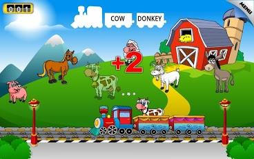 Kids Animal Train - First Word-3