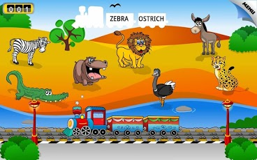 Kids Animal Train - First Word-5