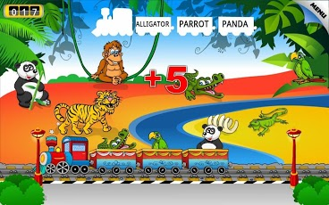 Kids Animal Train - First Word-7