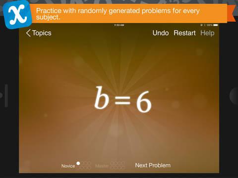 Algebra Touch App - 2