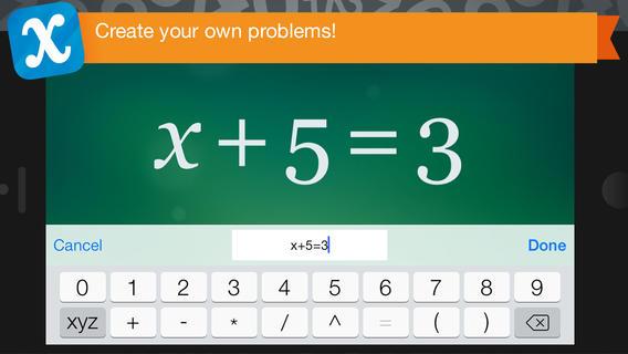 Algebra Touch App - 5