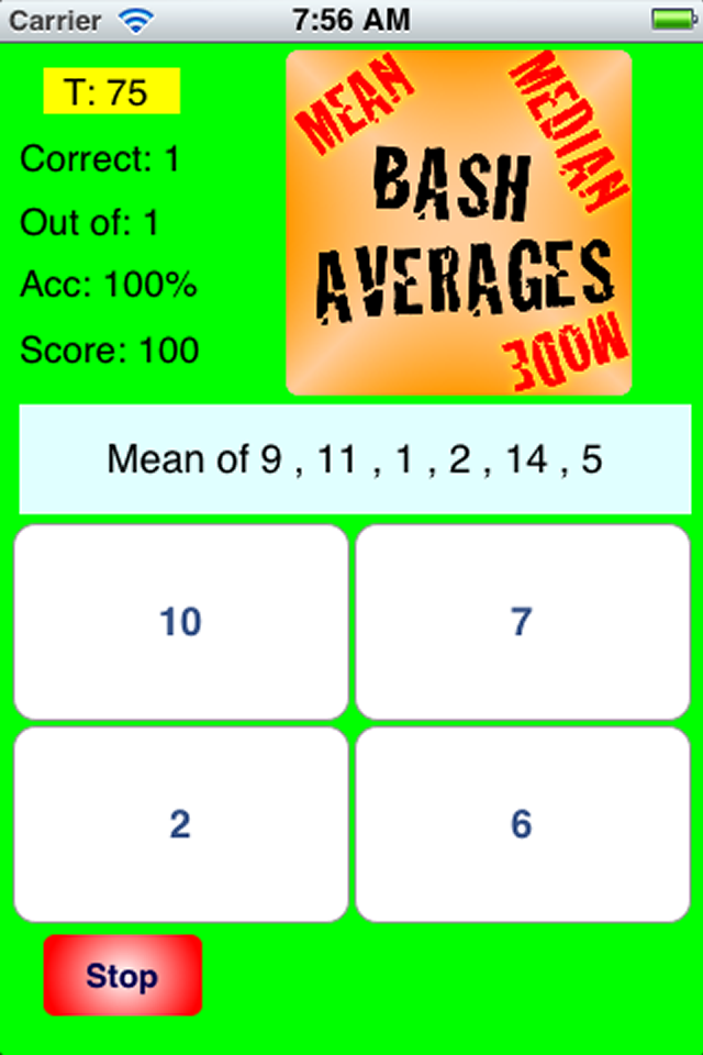 KS3 Maths Bash App - 4
