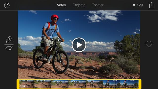 iMovie App - 2
