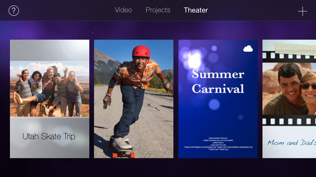how to make a music video on imovie app