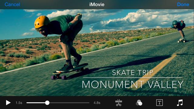 iMovie App - 5