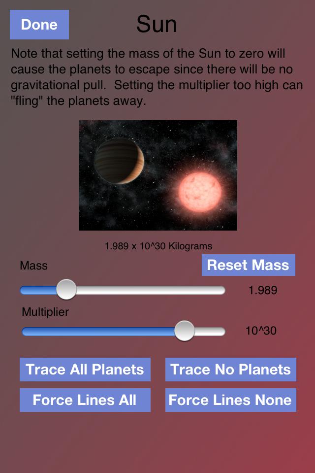 Orbits App - 4